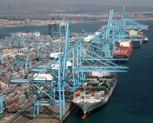 El puerto de algeciras supera los 102 millones de toneladas de tr fico el estrecho informaci n - Puerto de algeciras hoy ...