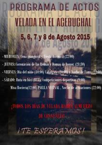 Cartel promocional velada 2015