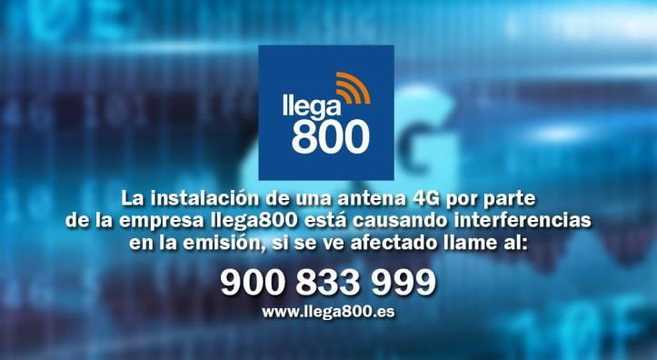 INTERFERENCIA LLEGA800